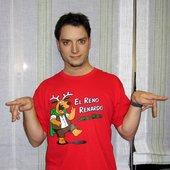 Frodo con camiseta de Reno Renardo