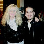 Kim Carnes & chilean producer Leonardo De La Cerda
