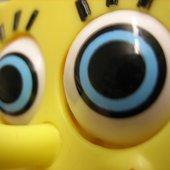 spongebob's big eyes