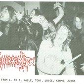 abhorrence(finland)-deathvomit zine 1990