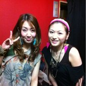 Saori and Aira after live