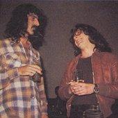 "Frank Zappa & Kirill \""Kirka\"" Babitzin"