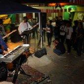 Bangkutaman supporting Blossom Records Blooming Tale Showcase @ Hey Folks! Jakarta