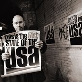 This is 51st State of  the USA by Matt Johnson