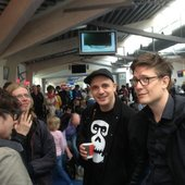 Siriusmo together with one part of Modeselektor
