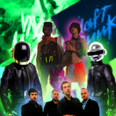 Coldplay+MGMT+Daft Punk
