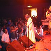 Dieter Weberpals and Sona Diabate (Argile-Tour 2003)