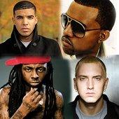 Drake, Kanye West, Lil' Wayne & Eminem