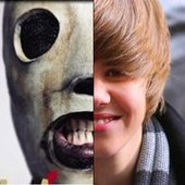 Justin Bieber vs. Slipknot