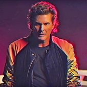 "David Hasselhoff ""True Survivor\"" (from \""Kung Fury\"")."