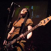 Åsa at Hard Rock Cafe in Manchester 2006.01.28