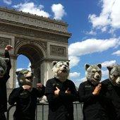 MWAM at Arc de Triomphe