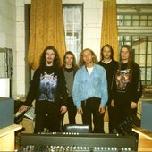 """Dusk Of Millennium\"" record session. Autumn 1999."