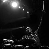 king errisson - percussionist of Bongo Band