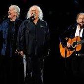 Paul Simon with David Crosby and Graham Nash