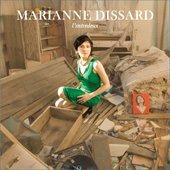 """album artwork \""""L'entredeux\"""" Marianne Dissard"""