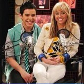 Miley Cyrus and David Archuleta