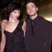 John Frusciante & Milla Jovovich