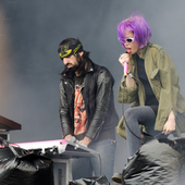 Alice Glass and Ethan Kath