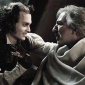 Alan Rickman & Johnny Depp