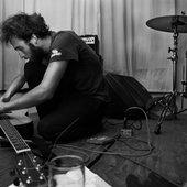 Matt fixing guitar