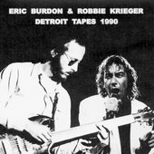 Eric Burdon and Robbie Krieger