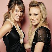 Hilary Duff & Haylie Duff