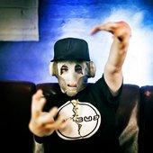 Funtcase wearing Circus T-Shirt