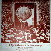 Operation Cleansweep - Munich  18/ 08/ 2002