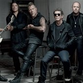 Lou Reed & Metallica for GQ magazine