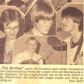 """Markus Roscher (rechts) 1981 mit \""""The Bottles\"""""""