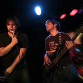 Brenton Sinay and Benny Dacks of thatwasthen live at the Viper Room
