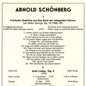 Arnold Schoenberg . New Living Translation Bible