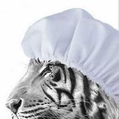 Tiger Shower Caps