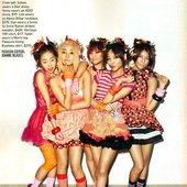 wonder girls in magazine