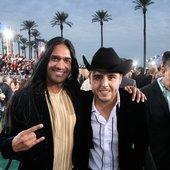 Gerardo Ortiz y Anand Bhatt (Latin Grammy Awards)