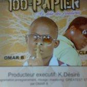100-papier- Omar B et Clarendy