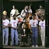 Robert Wyatt with the SWAPO Singers