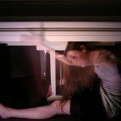 still under a piano