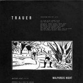04 Trauer & 02 Walpurgis Night