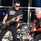 Golden Earring's Barry Hay (l) and George Kooymans (r), 2013