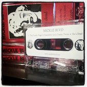 """Mickle Blvd EP \"""" She's Dead \"""" limited edition cassette"""