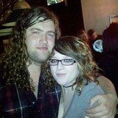 Luke, me and his beautiful hair! <3