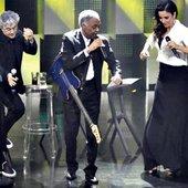 Ivete Sangalo, Gilberto Gil e Caetano Veloso