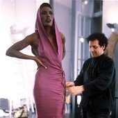 Grace Jones & Azzedine Alaia