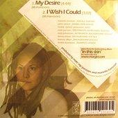 "Backside of the single \""Mary-go-round\"""