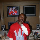 Mitchy Slick @  the SAS studio
