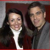 Martine McCutcheon & George Clooney