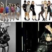 The Saturdays, Sugababes, Michelle Williams, Britney Spears & Girls Aloud
