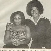 Michael Jackson and Stephanie Mills